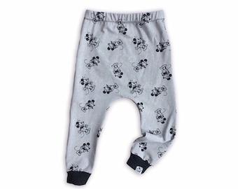 Mickey Mouse Baby + Toddler Harem Pants/ Leggings