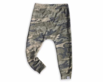 Camouflage Harem Pants, Camo Leggings, Kids Harems, Toddler Camouflage Pants, Preemie Clothes, Baby Harem Pants