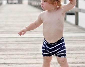 Nautical Knot Euro Trunks/ Swim Shorts