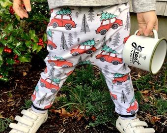 Christmas Vacation Baby + Toddler Harem Pants