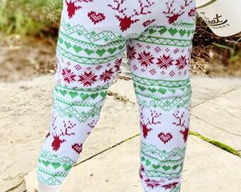 Winter Fair Isle Baby + Toddler  Leggings