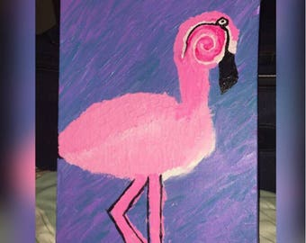 La Flamingo by Riahchuu Original  one of a kind