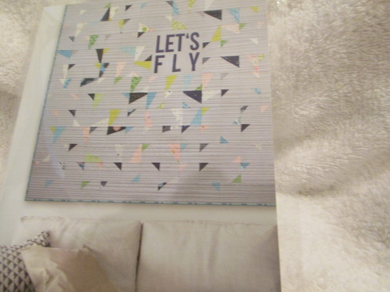 Quilt Pattern Moda Zen Chic Let/'s Fly 60 square