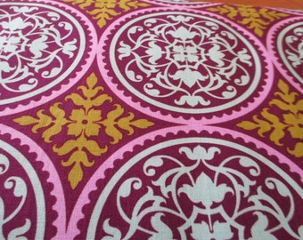 Quilting Weight Cotton Aviary 2 Scrollwork in Lilac by Joel Dewberry for Free Spirit 1 yard