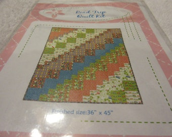 Road Trip Quilt Pattern designed by the Fat Quarter Shop
