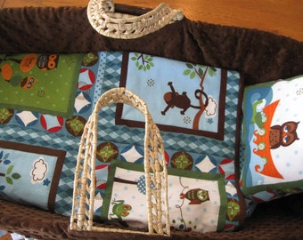 PDF Pattern How to Make your Own Lapped Moses Basket Bedding Without Going Crazy by Karen Brauer