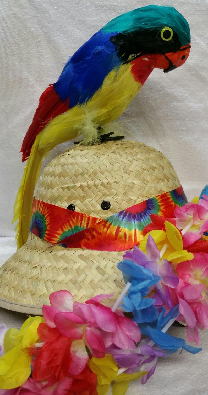 JIMMY BUFFETT MARGARITAVILLE Parrot Head Hat