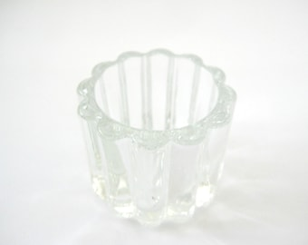 Vintage Toothpick Holder, Clear Glass Toothpick Holder, Glass Toothpick  Holder, Ribbed Glass Toothpick