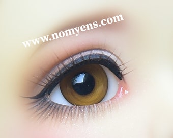 Limited Edition  / BJD  eyelash :  Smoothy brown ( 3-5 mm )