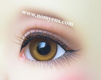 Limited Edition / BJD  eyelash :  Strong Caramel ( 3-5 mm )