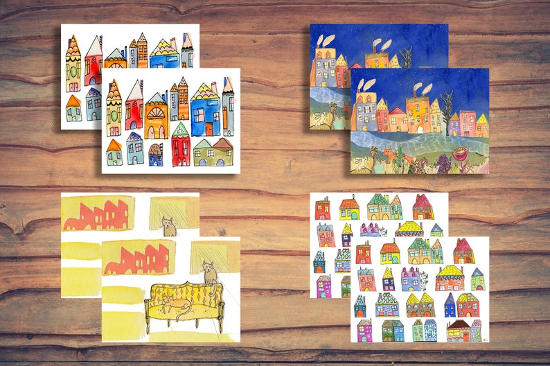 Houses Card Pack image 0