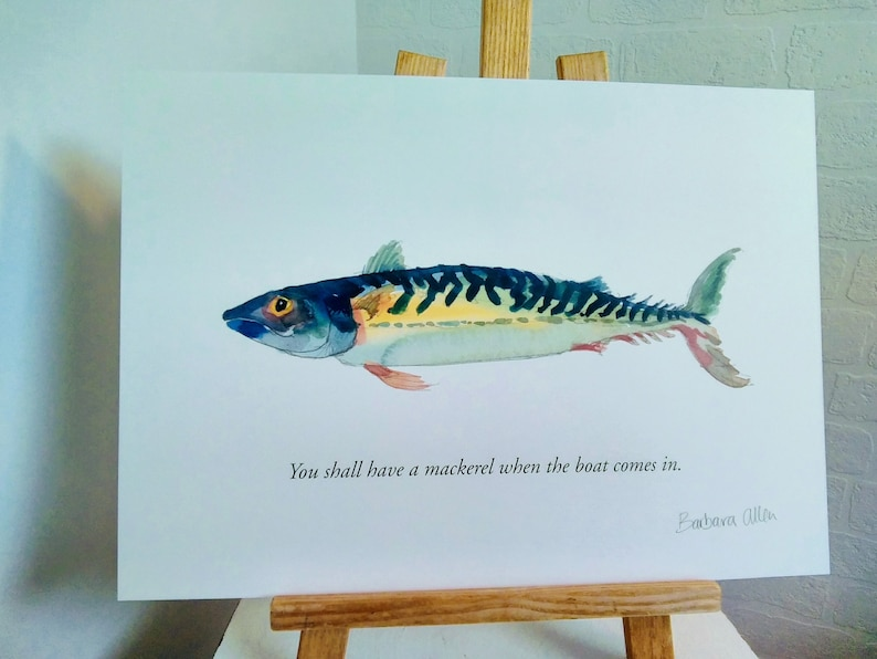 You shall have a mackerel