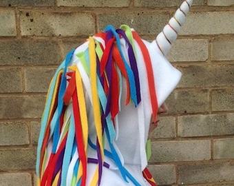 White rainbow Adult Unicorn Onesie/Unicorn gift/ Unicorn party
