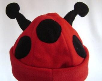 ce1b08297e6 Ladybird Beanie ladybug hat ladybird gift ladybug costume