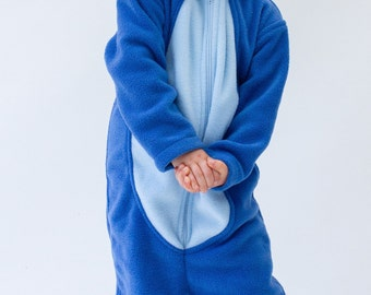 Blue dog onesie/ blue dog Halloween costume/ blue dog kigurumi