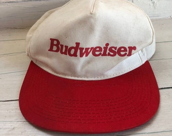 Dog Hat Budweiser Fabric,Dog Accessories Size Medium Handcrafted in the USA World Famous Kool Dog Hats Stay On