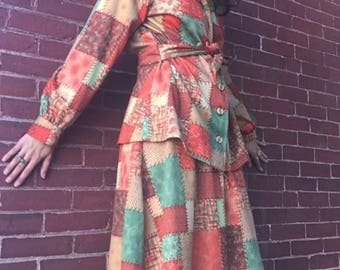 70s polyester 2 pc