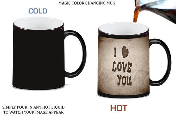 Elf World'S Best Cup of Coffee Color Changing Heat Reveal Coffee Mug