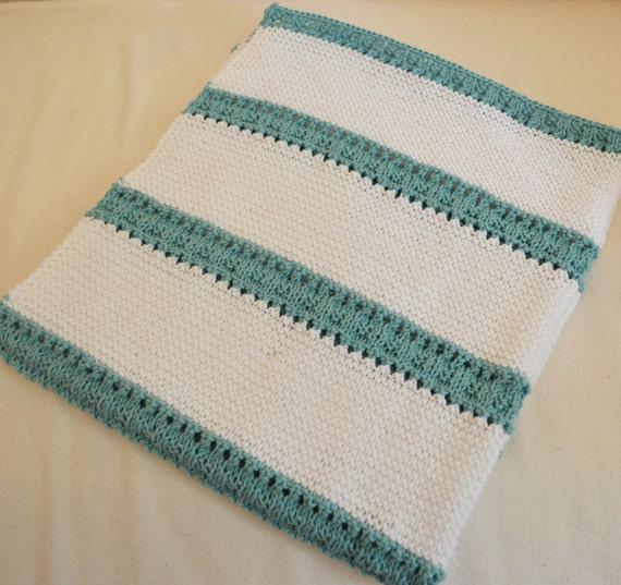 Belle Baby Blanket Cotton Lap Blanket Knitting Pattern Etsy