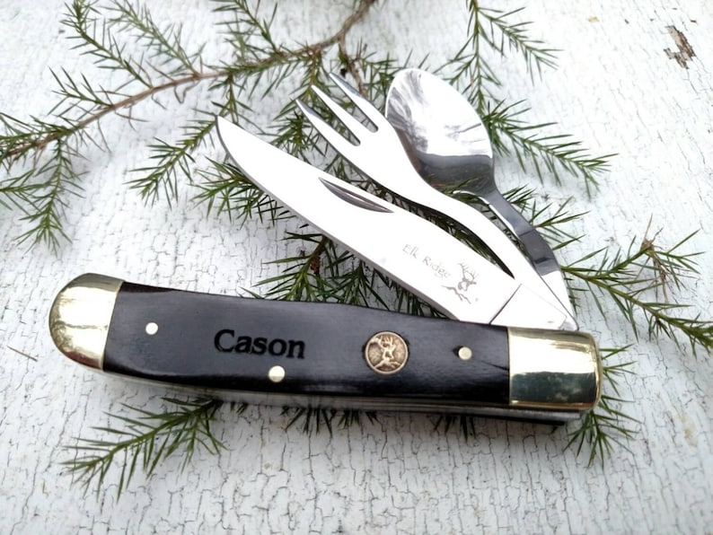 Boy Scout Award Pocket Knife Eagle Scout Camping Tool Knife image 0