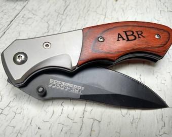 Pocket Knife, Groomsmen Gift, Groomsmen Knife, Personalized Knife, Engraved Knife, Groomsmen Gifts, Custom Knife, Hunting Knife