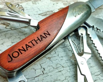 Custom...203418 Personalized Multi Tool, Engraved Multi Tool, Swiss Army Knife, Groomsmen Favor, Wedding Favor, Custom Knife, Multi Tool