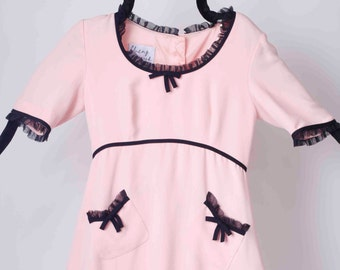 2926d5955b641e Vintage Moschino Pink Crepe Dress