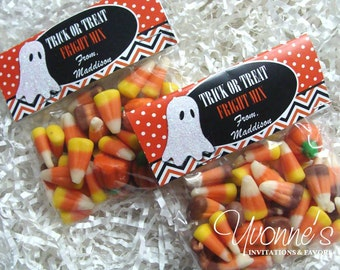 Halloween Treat Goody Bags - for Trick or Treat, Halloween Party Favor- School or Class Party - Teacher/Office Gift