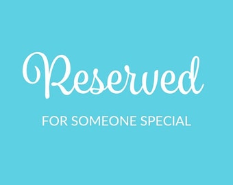 Reserved Listing for Rochelle
