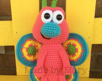 PDF PATTERN: Butterfly Amigurumi *Crochet Pattern Only, Not Actual Doll* Crochet Butterfly