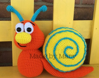 PDF PATTERN: Snail Amigurumi *Crochet Pattern Only, Not Actual Doll*