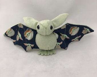 Wise Baby Alien Bat Plush, Stuffed Animal, Softie