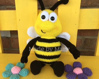 PDF PATTERN: Bumblebee Amigurumi *Crochet Pattern Only, Not Actual Doll*