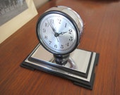 Hammond American Emblem Co. Shelf Clock - Streamline Art Deco