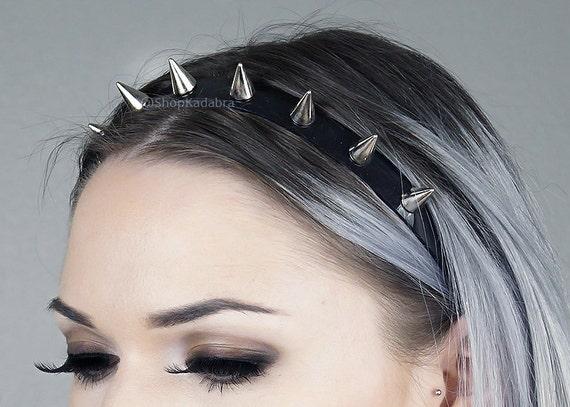 Spiked Headband | Silver Spiked Headband | Spiked Crown | Headband | Crown | Headdress | Kadabra Cult | Shop Kadabra | Baby Spike Crown by Etsy