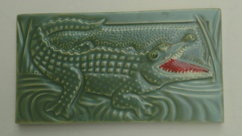 Alligator Subway Tile Handmade Decorative Backsplash | Etsy - photo#37