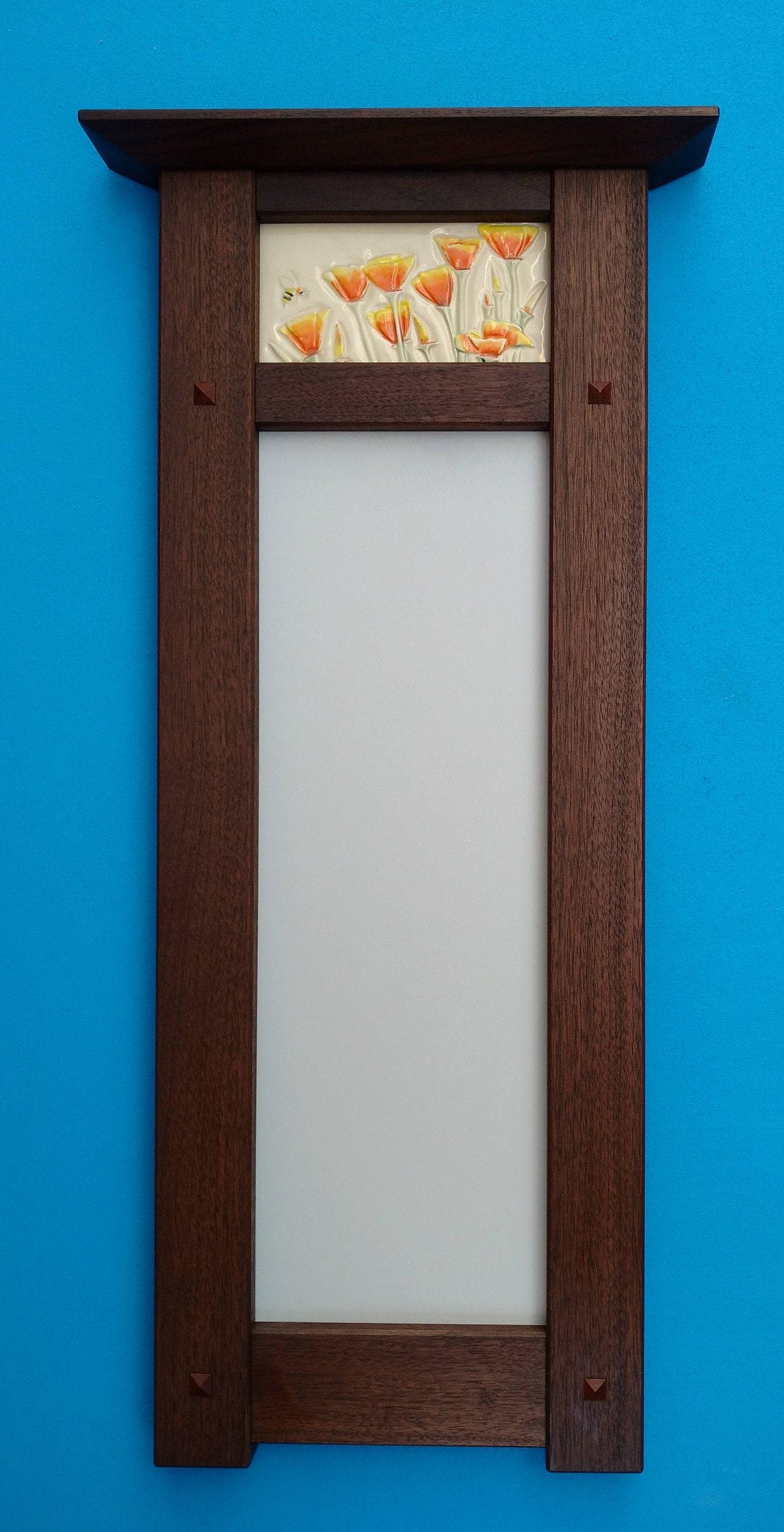 Decorative Mirror California Poppy | Etsy - photo#33
