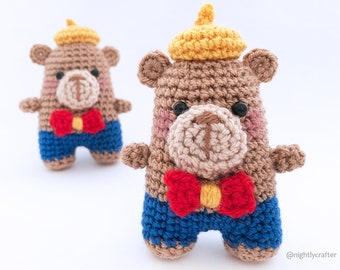 Amigurumi Crochet Pattern - Elliot the Bear - PDF Pattern