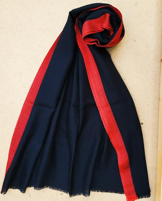 Black Cashmere wrap- Cashmere stole- Cashmere Shaw