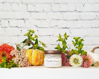 5oz Autumn Soy Candles • 20 Scents • Fall Farmstand • Falling Leaves • Spiked Cider • Autumn Sunrise • White Barn • Salted Caramel