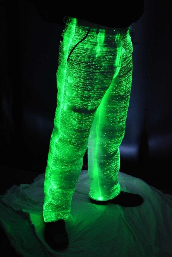 Light Up Collier avec cordon son activation Glow Accessoire