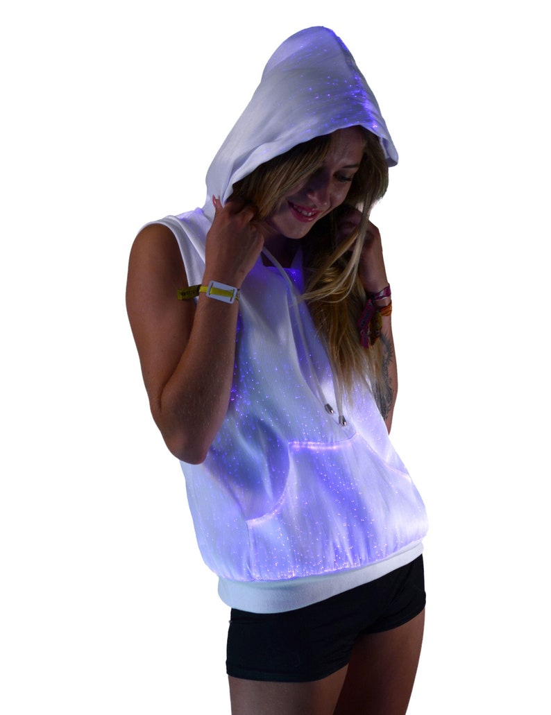 25f17f4a LED Women's Hoodie Light Up Women's Hoodie Unique | Etsy