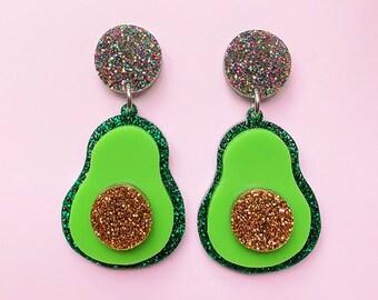 JEWELLERY Double Half Moon Drop Earrings : Big And Fancy Hello Miss May Jaipur