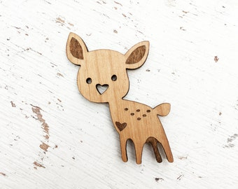 ANIMAL | Cute Deer Brooch Pin Pin