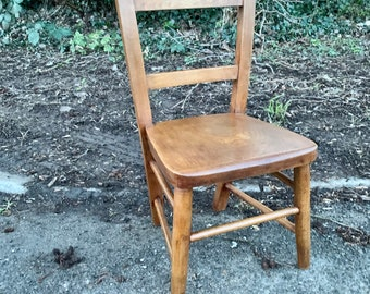 1930s Child's Chair