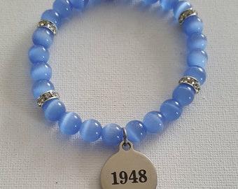 1948 Zeta Amicae Charm Bracelet