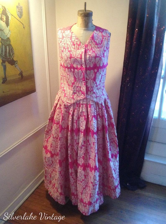 a1cd45c28 TIPICANO mexicana rara vintage inspirado falda y chaleco