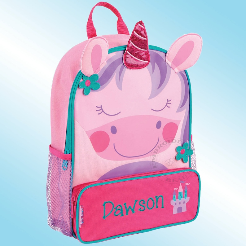 Backpack Personalized and Embroidered Sidekick