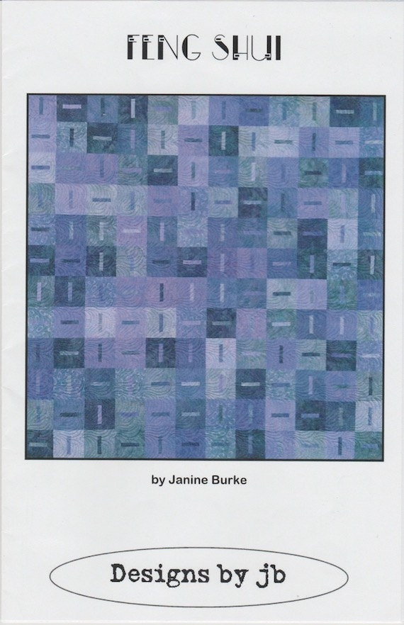 DIY Zen Quilt Kit,Blue Underground Studio,Includes pattern /& batik fat quarters