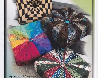 Squffets, Erin Underwood, DIY Quilted Footstool Pattern